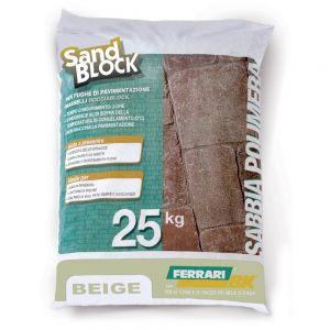 Sand Block, colore Beige (sacco da 25kg)