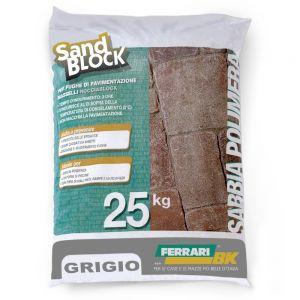 Sand Block, colore Grigio (sacco 25kg)