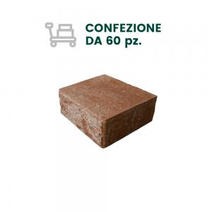 COPERTINA PICCOLA TANGO PER MURI CON 2 FACCE A VISTA - COLORE STRIATO (60 pz)