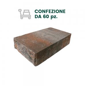 COPERTINA GRANDE TANGO PER MURI CON 2 FACCE A VISTA - COLORE STRIATO (60 pz)